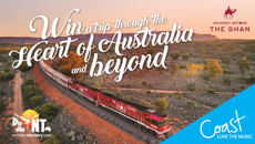 Win a trip through the heart of Australia and beyond!