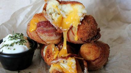 Mashed potato bacon bombs recipe