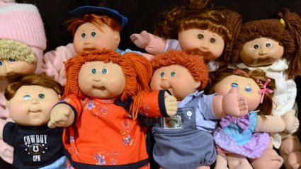 Your old Cabbage Patch dolls could now be worth A LOT of money!