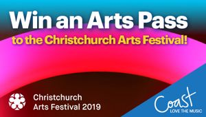 CHRISTCHURCH: Win an Arts Pass to The Christchurch Arts Festival!