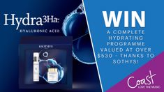 Win a complete Hydrating Programme valued at over $530 - thanks to Sothys!