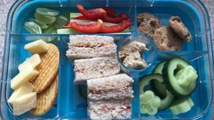 Mum left completely shocked after school sends son's 'unhealthy' lunch box home