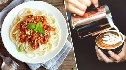 Apparently adding coffee to mince is the secret to making the best nachos and spaghetti bolognese