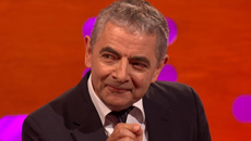 "Rowan Atkinson shares HILARIOUS story about getting told he ""looks just like"" Mr. Bean"