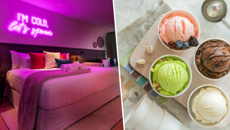 This New Zealand hotel room comes with unlimited ice cream!