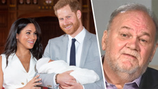 Meghan Markle's estranged father Thomas speaks out following christening snub