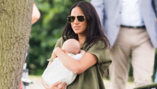 Meghan Markle has been mummy-shamed for the first time after polo outing with Archie