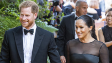 Prince Harry and Meghan Markle dazzle as they make their red carpet debut at The Lion King premiere