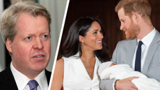 Why Prince Harry and Meghan Markle didn't invite Princess Diana's brother to Archie's christening