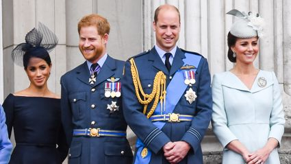 This is how Prince William, Prince Harry, Kate Middleton and Meghan Markle will look in their 70s ...