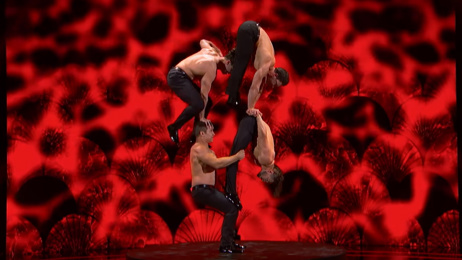 Three brothers and their retired father perform INCREDIBLE acrobatic act on America's Got Talent