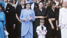 A hilarious rare video of Queen Elizabeth chasing after a young Prince William has surfaced online