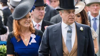 "Sarah Ferguson sparks reports of a remarriage to Prince Andrew after saying they're ""still together"""