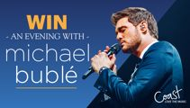 Win a Michael Bublé VIP experience with Coast's 'Bublé Button'!