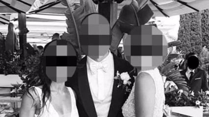 Woman sparks outrage after wearing white floor-length dress to her friend's wedding