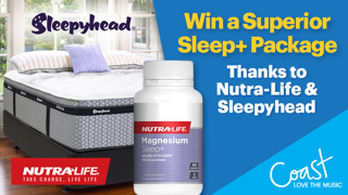 Win a Superior Sleep+ Package thanks to Nutra-Life and Sleepyhead!