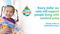 Step up for Kiwis living with Cerebral Palsy this Steptember!