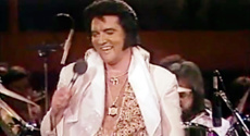 WATCH: Elvis Presley singing his final song 'Are You Lonesome Tonight' at his last ever concert