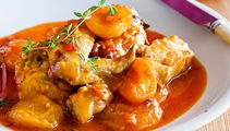 This quick apricot chicken casserole recipe is perfect for a cold winter night!