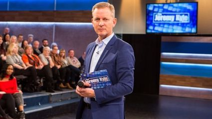 Jeremy Kyle announces he's expecting his first child with his fiancee Vicky Burton
