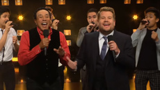 Smokey Robinson and James Corden perform STUNNING a capella cover of 'My Girl'