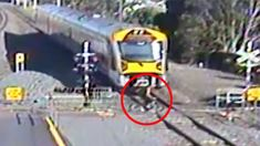 KiwiRail shares horrifying footage of people's near-misses with trains