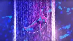 Hoop aerialist wows with incredible acrobatic routine in water on America's Got Talent