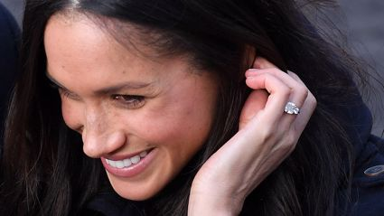 Fans notice Meghan Markle's redesigned engagement ring looks a lot like the one her ex gave her