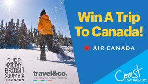 Win a trip to Canada!