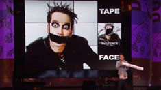 Tape Face performs impressive magic tricks with Australian magician on American's Got Talent