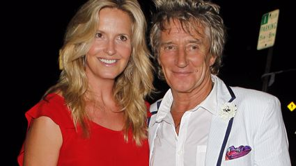 Rod Stewart and Penny Lancaster open up about their relationships with his ex-wives