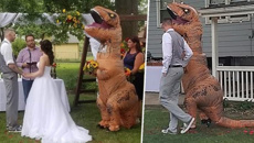 We've all heard of a Bridezilla, but a Maid-a-saurus?!