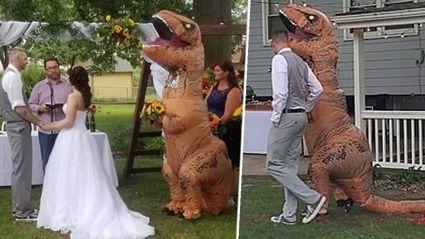 We've all heard of a Bridezilla, but a Maid-a-saurus?!