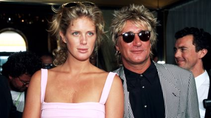 Rachel Hunter opens up about creating one blended family with Rod Stewart's other ex-wives