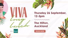 You're invited: Viva Long Lunch with Dilmah