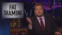 James Corden goes viral with his epic comeback to fat-shaming comments