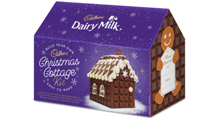 """Cadbury is releasing a """"Christmas Cottage Kit"""" made entirely of milk chocolate!"""