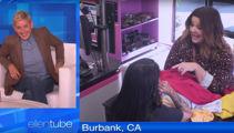 Melissa McCarthy and Ellen DeGeneres play hilarious hidden camera prank on drycleaner