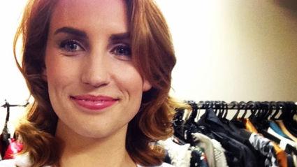 TV presenter Samantha Hayes welcomes her first child!