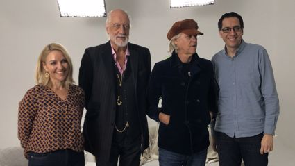 Mick Fleetwood opens up to Mel Homer and Jason Tikao about what it's like having Neil Finn on tour with Fleetwood Mac