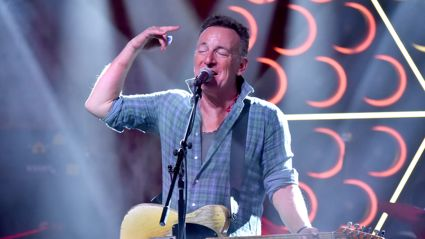 A new study claims people who listen to Bruce Springsteen while driving are more likely to speed