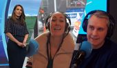 Renee Wright hilariously completes a dare given to her by Coast listeners LIVE on 1 News last night