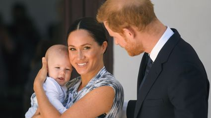 ROYAL TOUR: Baby Archie makes first official public appearance looking just like Prince Harry