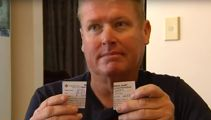 Australian cancer patient left upset after Kmart cuts up his cards from his wallet left in-store