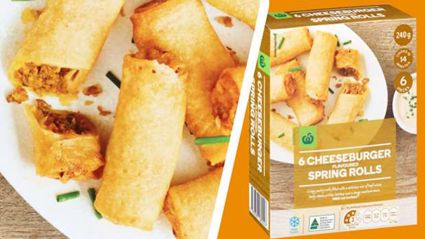 Countdown has just released cheeseburger spring rolls and we're curious!
