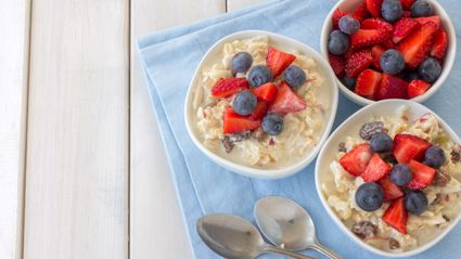 Allyson Gofton's quick and easy chia seed bircher muesli recipe