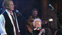 Art Garfunkel and his son sing adorable rendition of 'The 59th Street Bridge Song (Feelin' Groovy)'