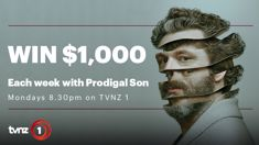 Win $1,000 cash thanks to TVNZ 1 and 'Prodigal Son'!