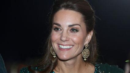 ROYAL TOUR: Kate Middleton stuns in glamorous glittering green gown during Pakistan visit