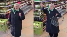 Stevie Wonder's 'Part Time Lover' makes granny break into joyful dance in the supermarket